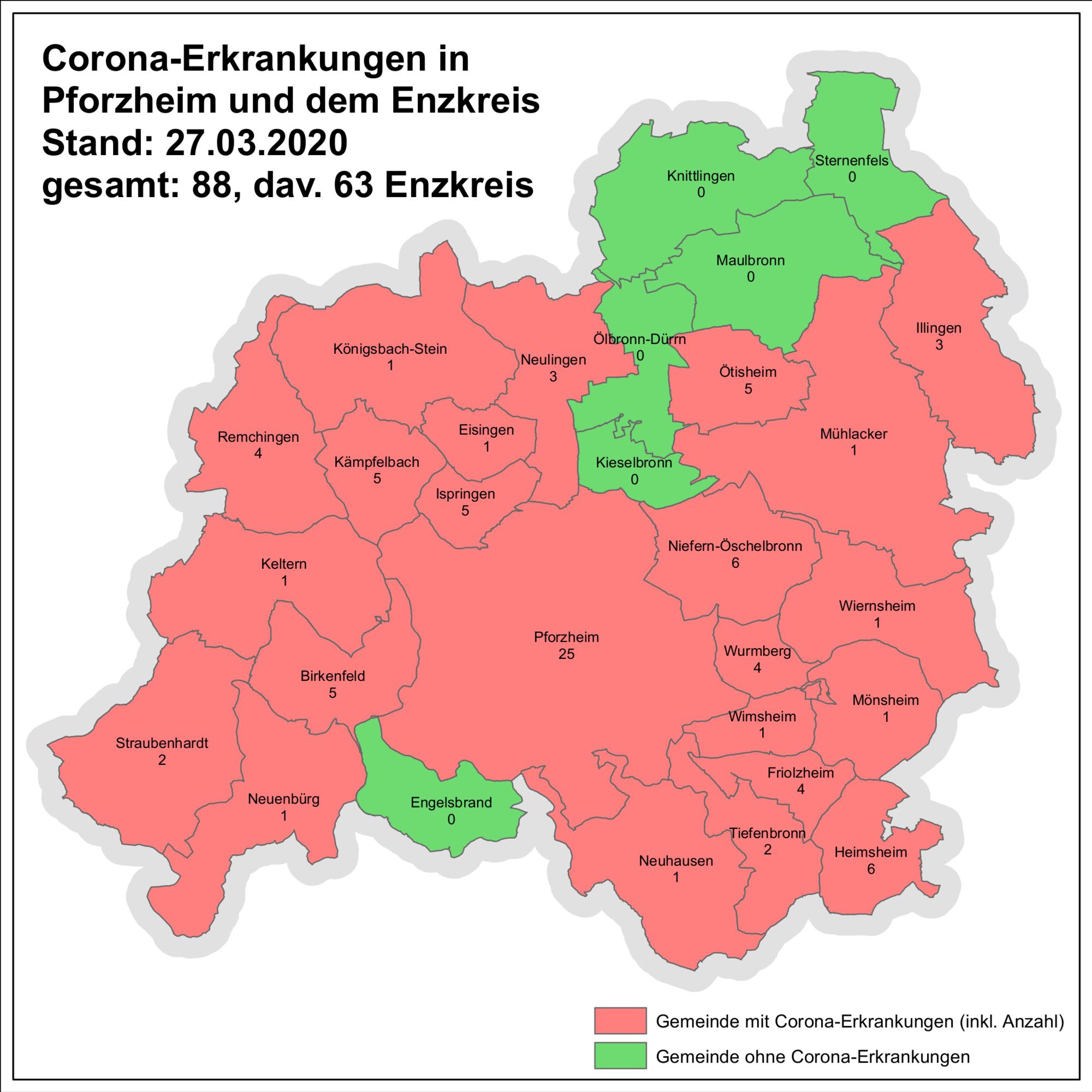 Coronafälle In Baden-Württemberg
