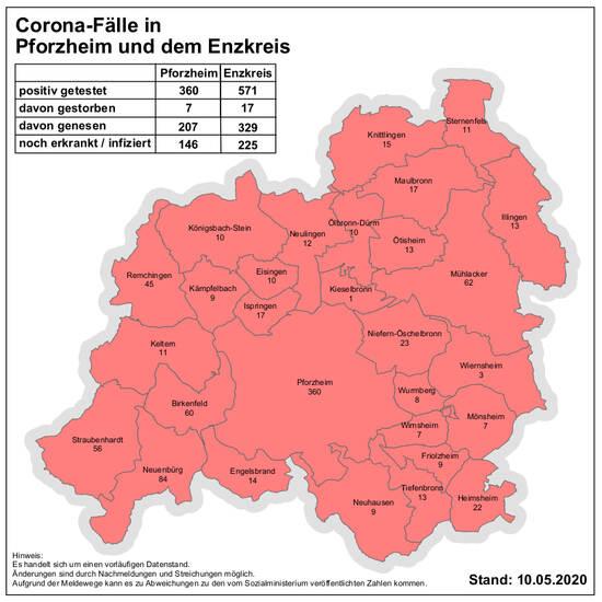 Corona Virus In Pforzheim