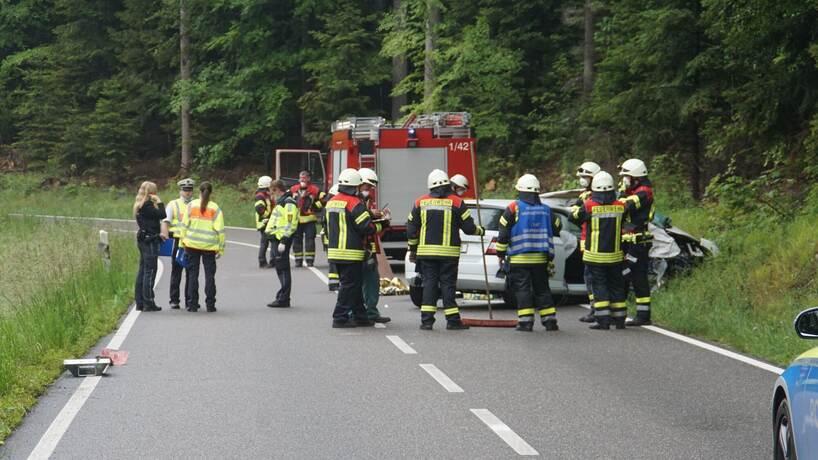 Unfall Oberreichenbach