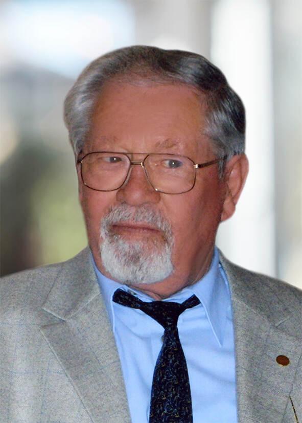 Nikolaus Mergl im Alter von 87 Jahren...