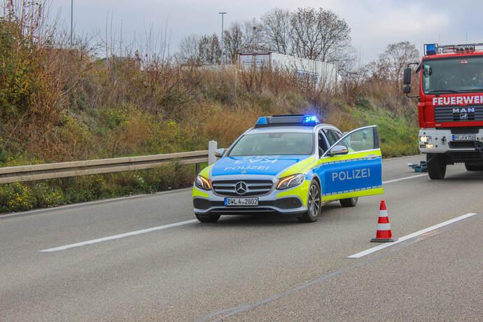 Stau A8 Richtung Karlsruhe