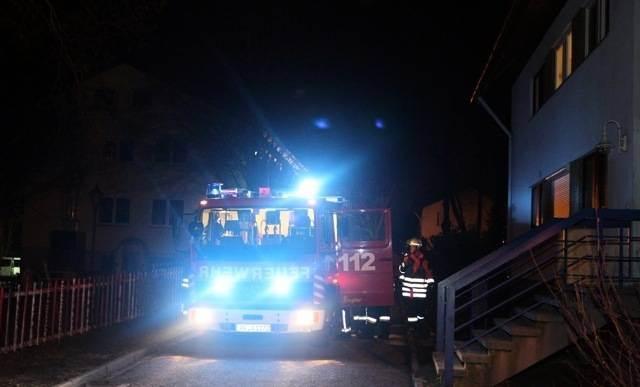 Wäschetrockner gerät im kinderheim sperlingshof in brand foto