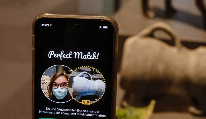 """Museum startet Dating-App - """"Ping!"""" lädt zur Kommunikation mit Exponaten ein"""