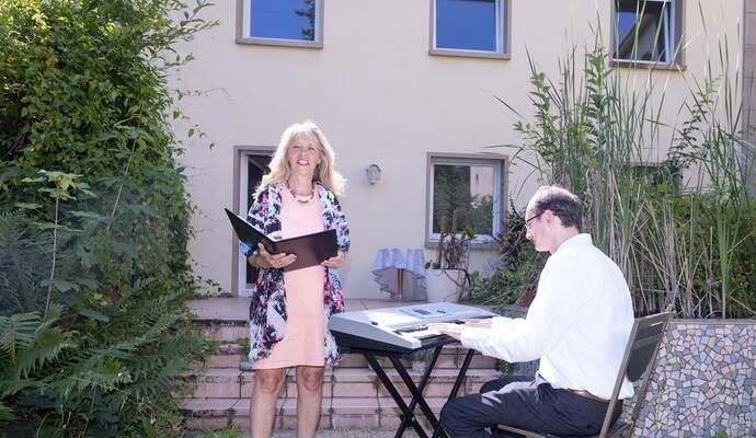 Großes Herz für Notleidende: Beatrice Fuhr-Herz veranstaltet seit zehn Jahr Serenadenkonzerte
