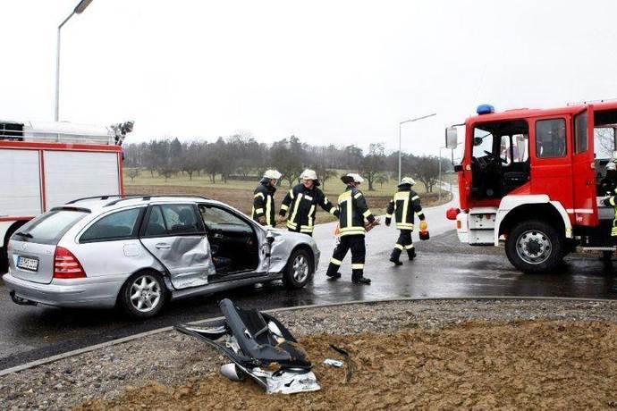 Unfall A8 Heimsheim