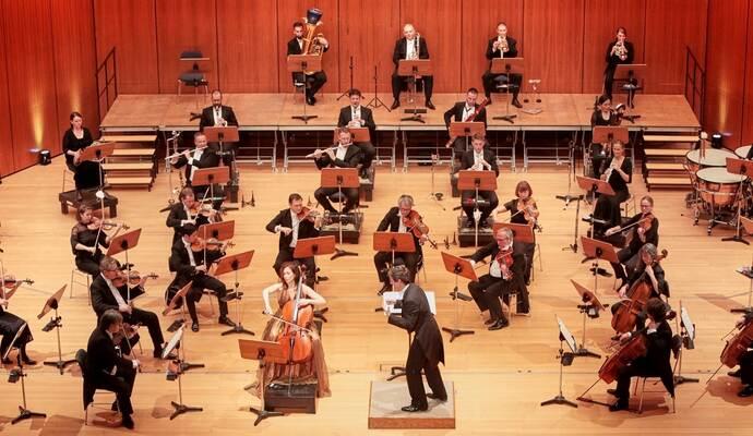 Badische Philharmonie punktet bei ersten Sinfoniekonzert im CCP mit zwei Europäischen Erstaufführungen