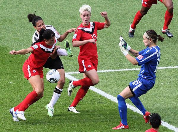 Frauenfußball Deutschland Kanada