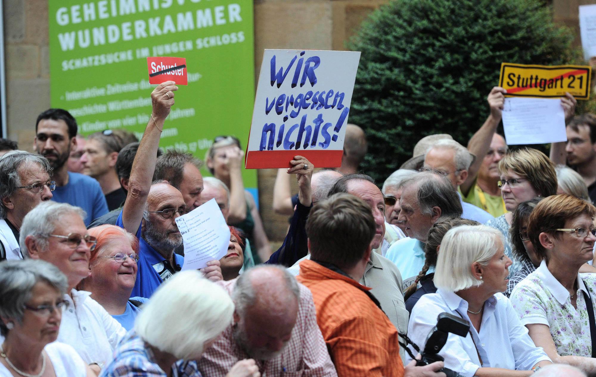Stuttgart 21 Eröffnung
