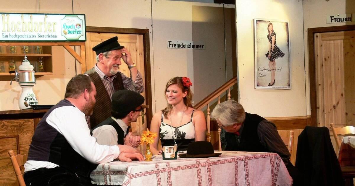 Würzbacher Bauerntheater bei der Weingärtnergenossenschaft