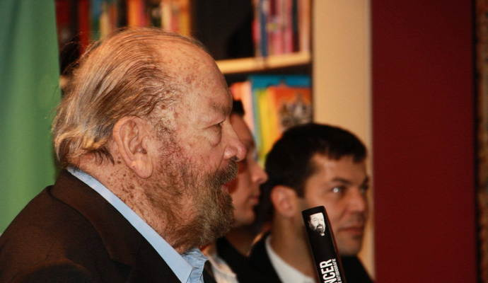 "Bud Spencer bei ""Thalia"" in Pforzheim."